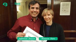 Jefferson Bauce Formação hipnoterapeuta Melissa Tiers